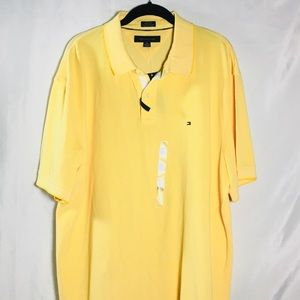 Tommy Hilfiger Men's XXL Yellow Polo NWT